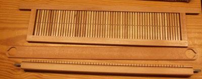 Pettini per telai a mano modificare una pelliccia - Telaio da tavolo per tessitura a mano ...