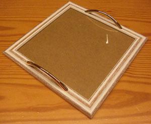 Vassoi In Legno Con Vetro : Vassoio rotondo in acciaio inox